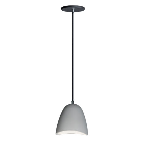 Sway Gray Concrete 7-Inch LED Pendant