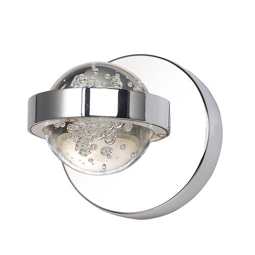 Cosmo Polished Chrome LED Wall Sconce