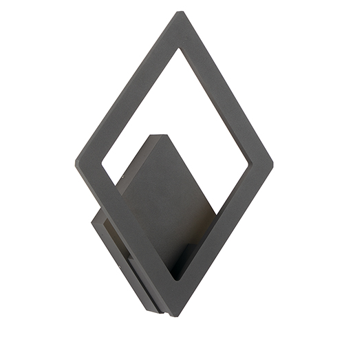 Alumilux Sconce Bronze 10-Inch LED Outdoor Wall Mount ADA