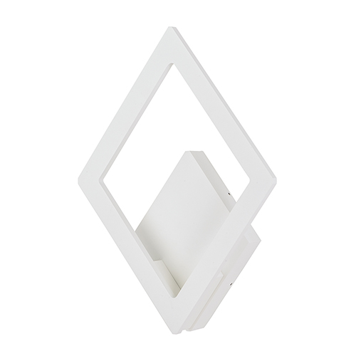 Alumilux Sconce White 10-Inch LED Outdoor Wall Mount ADA