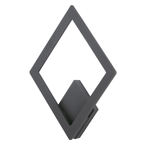 Alumilux Sconce Bronze 13-Inch LED Outdoor Wall Mount ADA
