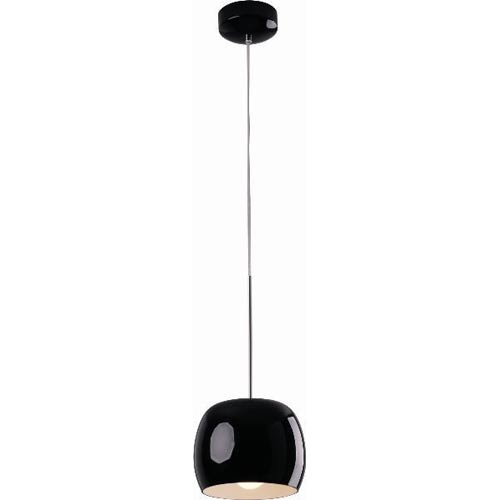 Magik Black Gloss Shroom Mini Pendant