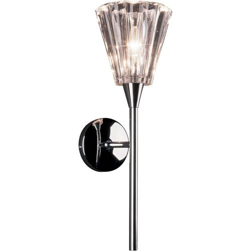 ET2 Visione Lead Glass Single-Light Wall Sconce