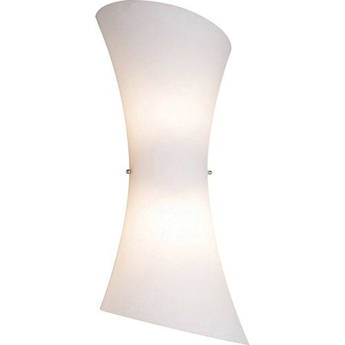 Conico Frost White Two-Light Wall Sconce