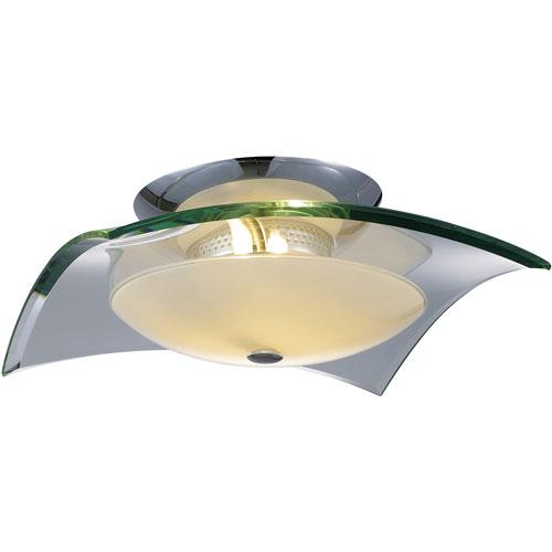 Curva Three-Light Flush