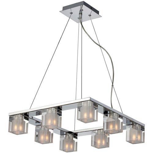 Blocs Eight-Light Chandelier