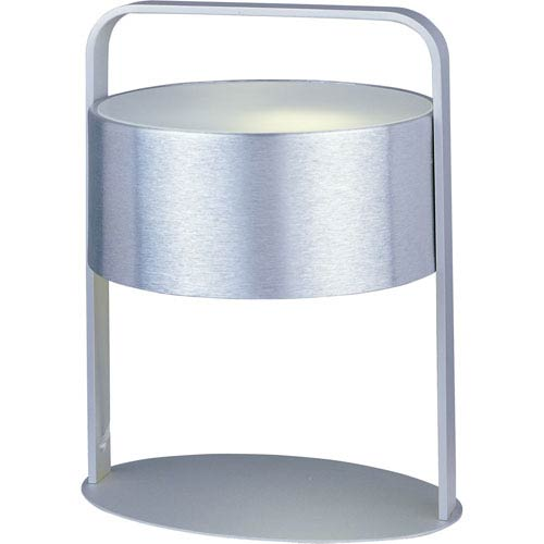 Percussion Energy Star One-Light Brushed Aluminum Table Lamp
