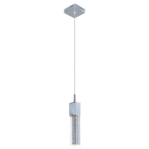 Fizz III Polished Chrome LED One Light Mini Pendant