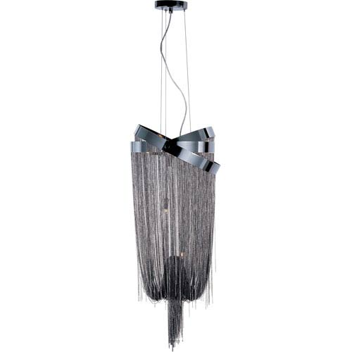 ET2 Mystic Black Chrome Six-Light Pendant