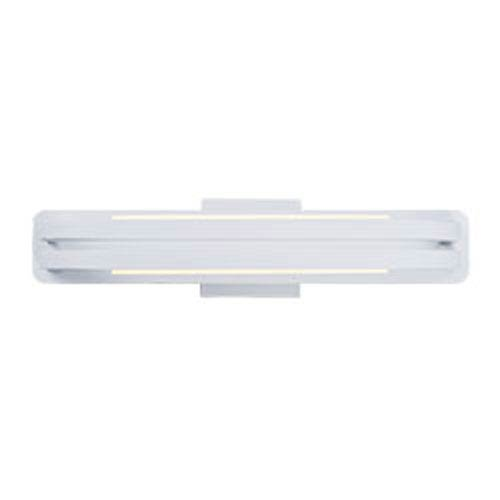 ET2 Jibe Matte White LED 21-Inch Wall Sconce
