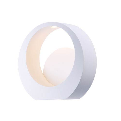 ET2 Alumilux AL White Eight-Inch LED Outdoor Wall Mount