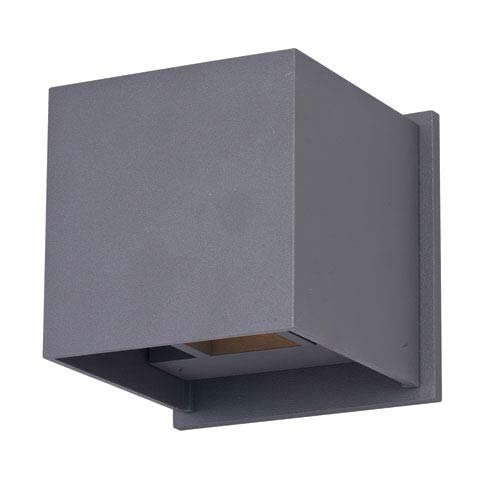 ET2 Alumilux Bronze LED Two Light Wall Sconce