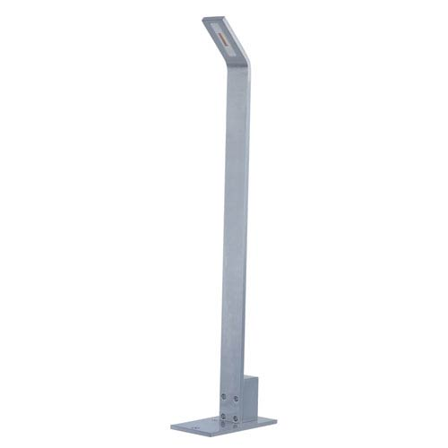 Alumilux Satin Aluminum One-Light LED 3-Inch Path Lighting with Base