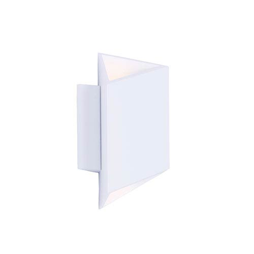 Alumilux AL White Nine-Inch LED Outdoor Wall Mount