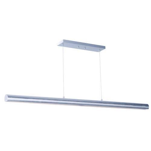 Alumilux AL Satin Aluminum 58-Inch LED Pendant
