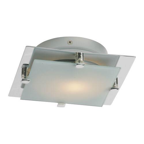 ET2 Piccolo LED Satin Nickel 6.5-Inch One Light Flush Mount