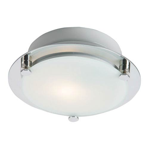 ET2 Piccolo LED Satin Nickel 2.5-Inch One Light Flush Mount