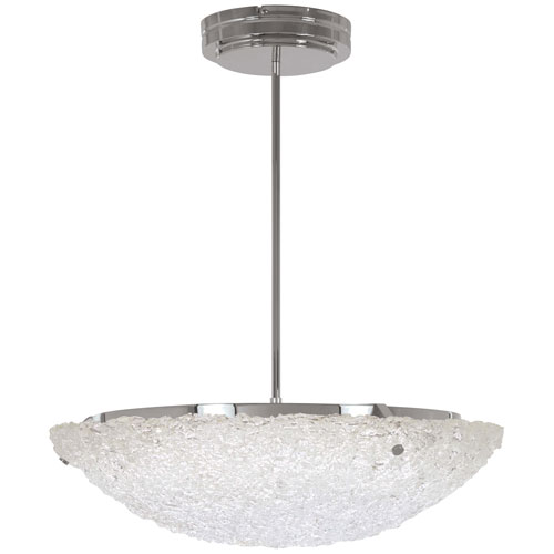 George Kovacs Forest Ice Chrome 16-Inch LED Pendant