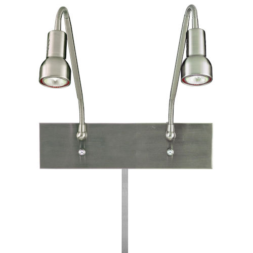 Save Your Marriage Brushed Nickel 19-Inch Two-Light LED Wall Sconce