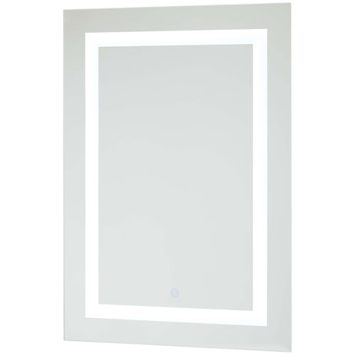 Rectangular 28 x 20 LED Lighted Bathroom Mirror