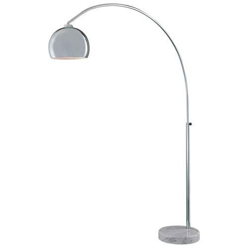 George Kovacs Arc Chrome Floor Lamp