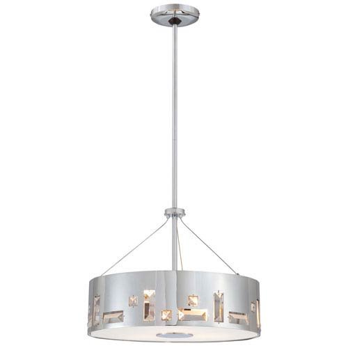 Bling Bang Chrome Four-Light Pendant