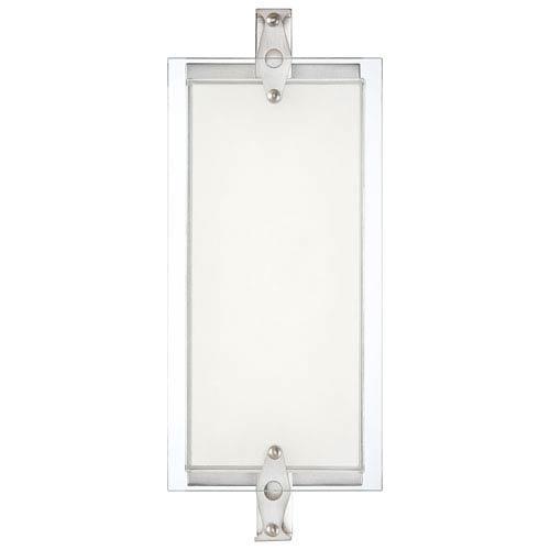 George Kovacs Brushed Nickel LED 14.75-Inch Bath Vanity Fixture