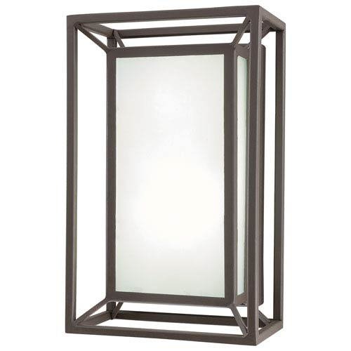 Outline Sand Bronze 10.5-Inch One-Light Outdoor LED Wall Sconce