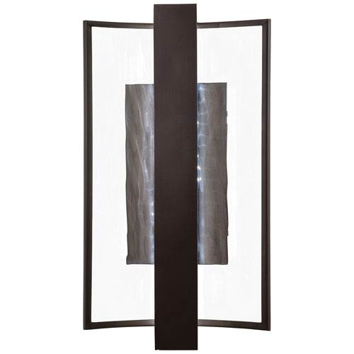 Sidelight Dorian Bronze 15-Inch One-Light Outdoor LED Wall Sconce