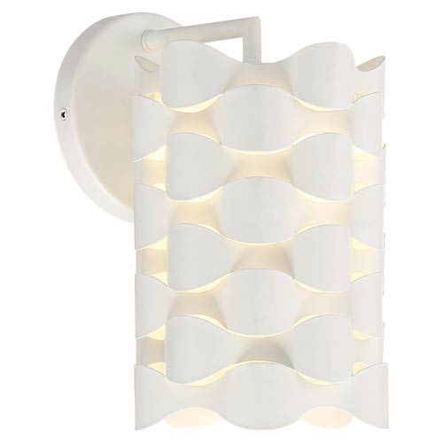 Coastal Current Sand White LED Wall Sconce