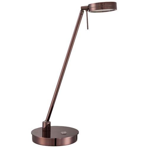 Chocolate Chrome LED Table Lamp
