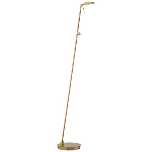 George Kovacs Honey Gold One-Light LED Pharmacy Floor Lamp