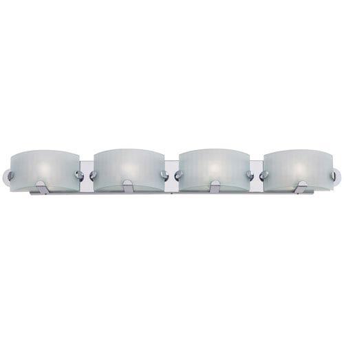 George Kovacs Pillow Chrome Four-Light Bath Fixture
