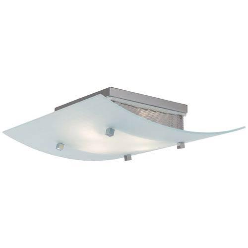 Waffle Flush Mount Ceiling Light