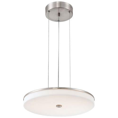George Kovacs U.H.O Brushed Nickel 3.25-inch 96 Light LED Pendant