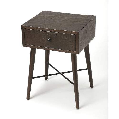 Delridge Coffee and Black End Table