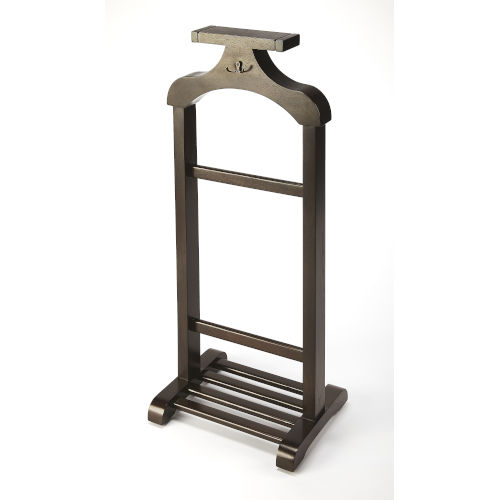 Brown Valet Stand