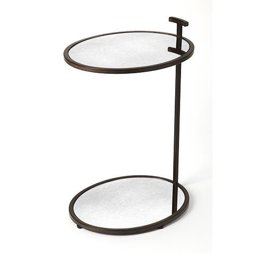 Butler Loft Bronze Ciro Mirror and Metal Side Table