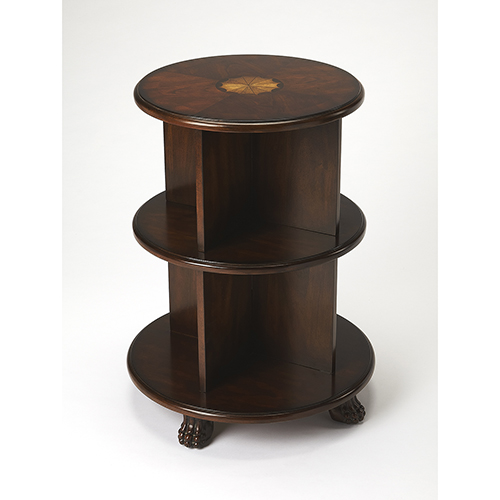 Butler Specialty Company Wagner Plantation Cherry Bookcase End Table