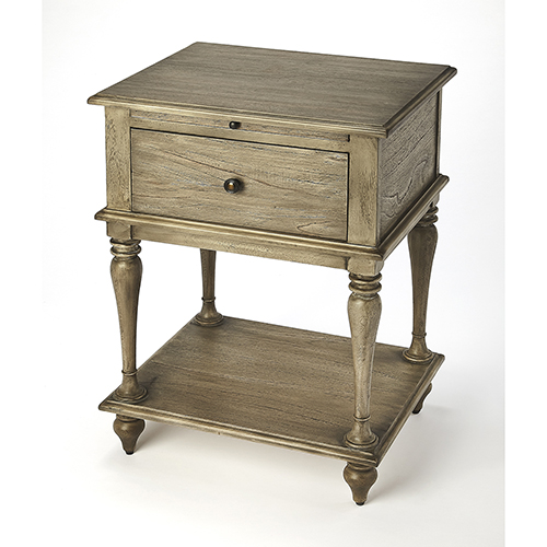 Masterpiece Ashburn Gray Dawn End Table