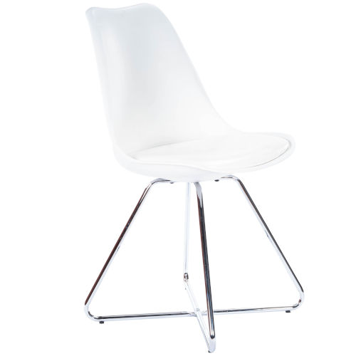Horace Nickel Accent Chair