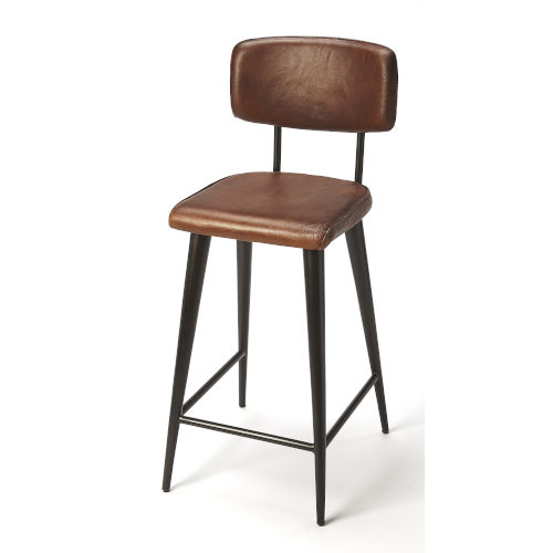 Brown 39-Inch Counter Bar Stool