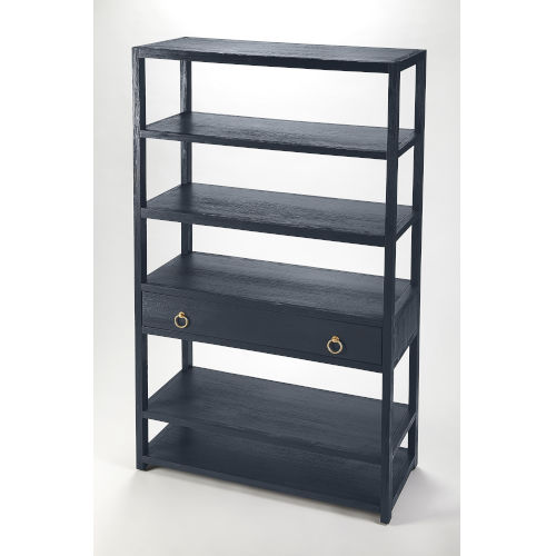 Blue Shelves and Bookcases Free Standing