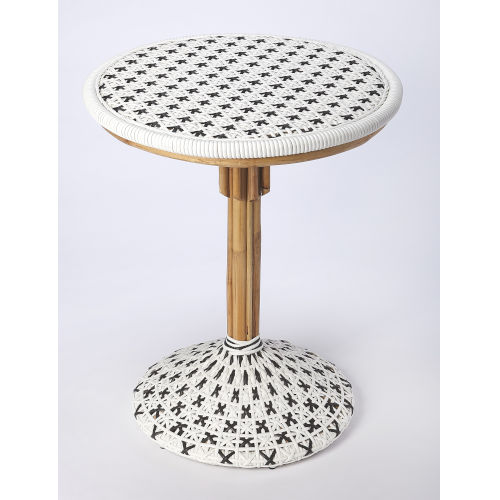 White Patio Dining Table