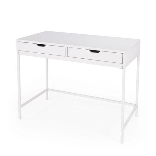 Belka White Writing Desk