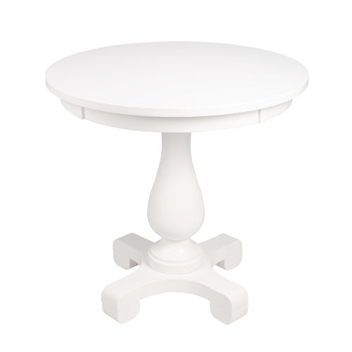 Millard Cottage White 30-Inch Round End Table