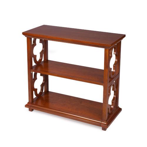 Paloma Olive Ash Burl 30-Inch Rectangular Bookcase