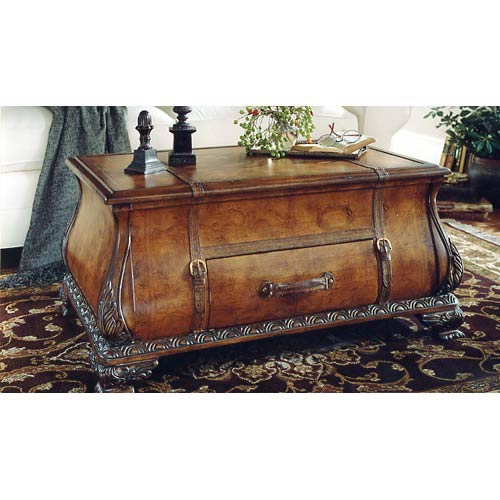 Heritage Bombe Trunk Table