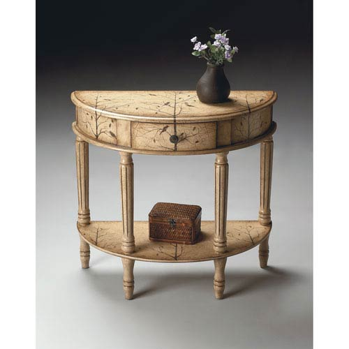 Butler Specialty Company Winter Forest Demilune Console Table