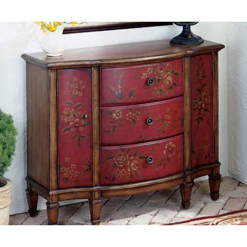 Artists Originals Red Console Cabinet